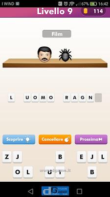 Emoji Quiz soluzione livello 9