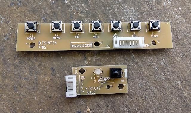Teclado de placa universal de LCD