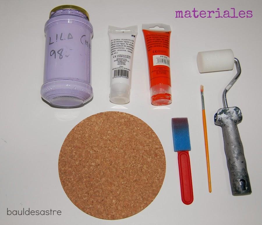 materiales para hacer una alfombrilla del ratón
