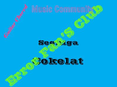 Chord Gitar Segitiga | Cokelat