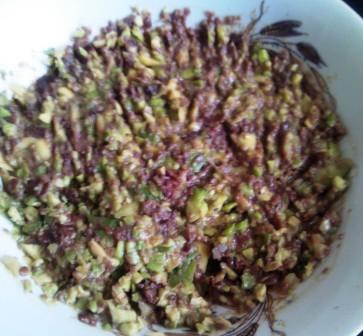 avocado masline usturoi
