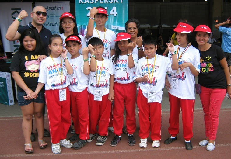 Kaspersky Lab joins sportsfest for visually impaired children