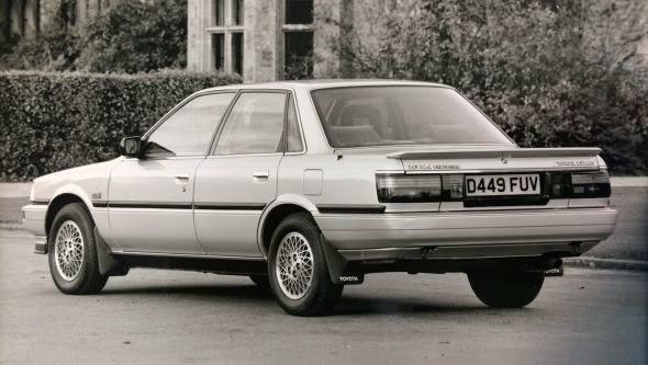 1987 Camry 2.0 GLi Executive -  - Lịch sử các dòng xe Toyota Camry : Đột phá qua từng thế hệ
