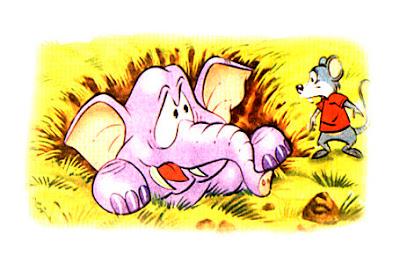 el elefante y la rata fabula