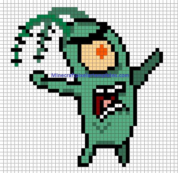 Easy Minecraft Pixel Art Suyhi Margarethaydon Com