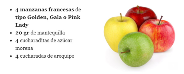 Manzanas-horneadas-arequipe-postre-novenas-navidad-gastonomia-recetas-receta