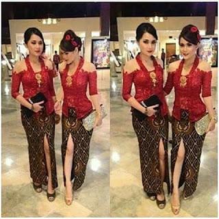 Gambar Kebaya Batik