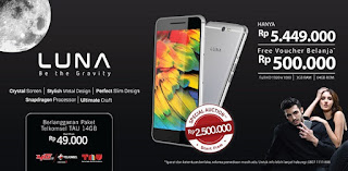 Promo Luna V55C 64 GB Android High End