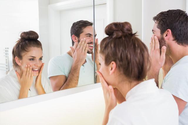 Kulit Wajah Pria dan Wanita