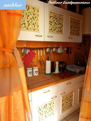 Kleine Landhausküche