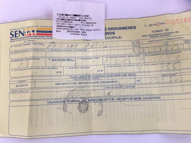 Andrés Pastrana robado por el SENIAT apenas entrando a Venezuela