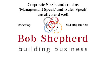 Image for Bob Shepherd Associates LinkedIn Article Marketing | Corporate speak, Management Speak & Sales Speak