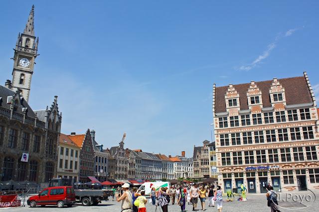 Una mañana en Gante, la ciudad de las tres torres