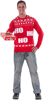 Adult Ho Ho Ho Christmas Sweater