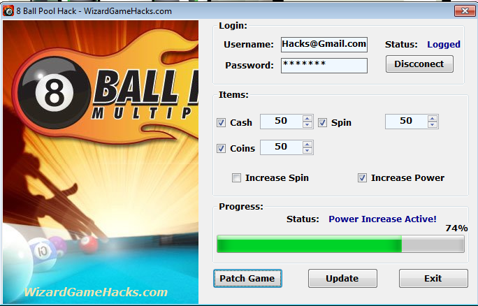8 ball pool multiplayer hack v3.4.5.5 password