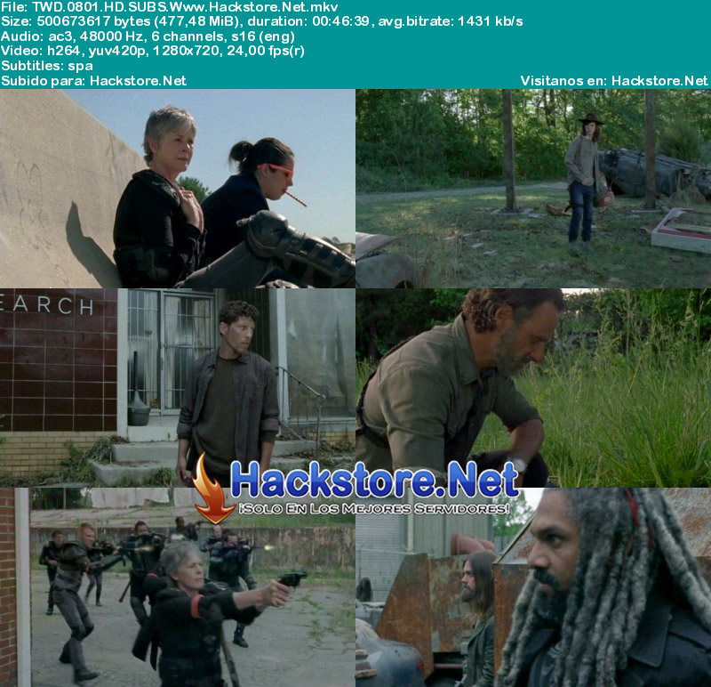 Capturas de The Walking Dead Octava Temporada Subtitulado HD
