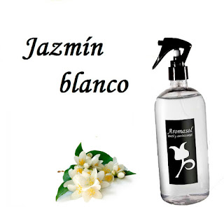 Perfume para la ropa Jazmín blanco