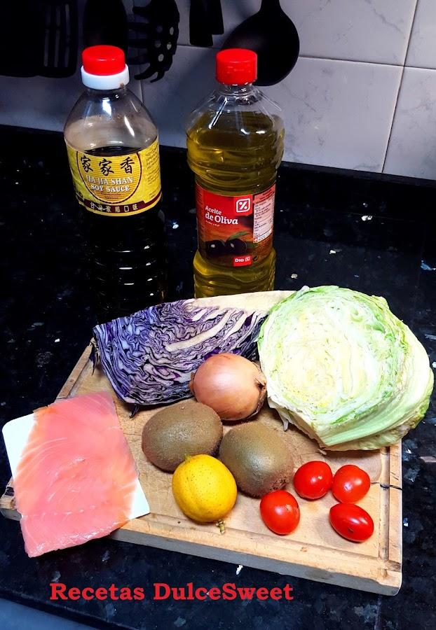 Ingredientes Ensalada