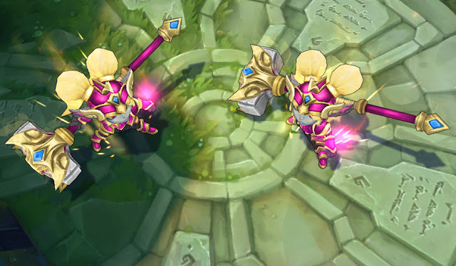 Mod Skin Poppy Battle Regalia Golden Pink