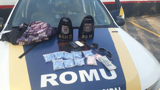 ROMU Jandira - Mais um traficante é preso em flagrante