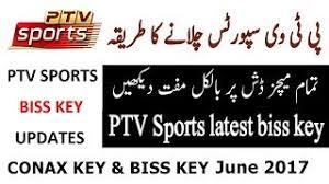 Ptv sports key