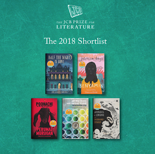 Top 5 Shortlisted Books for JCB Literature Award 2018