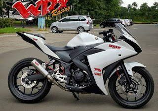 r25 modifikasi touring