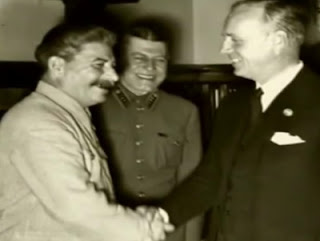 Stalin y Ribbentrop