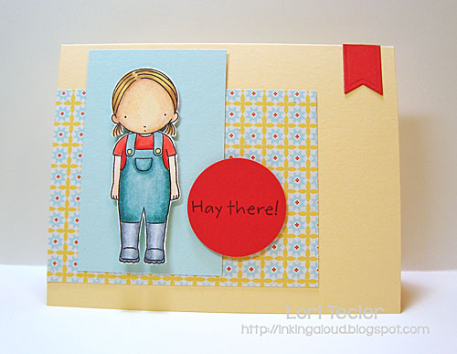 Hay There card-designed by Lori Tecler/Inking Aloud-stamps from My Favorite Things