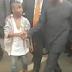 MPNAIJA GIST Photos: Little boy breaks through crowd to shake Vice President Osinbajo in Benin