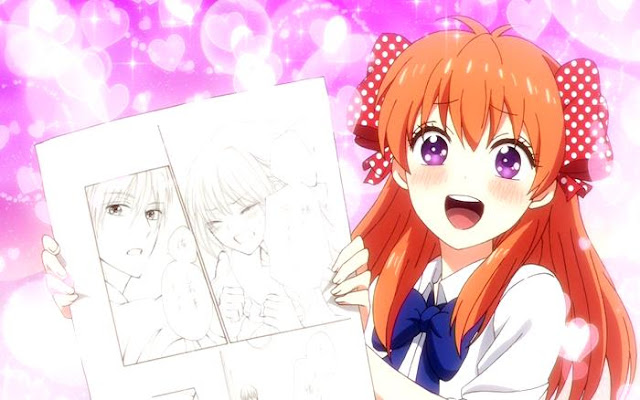 Gekkan Shoujo Nozaki kun - Anime Romance Comedy Terbaik Summer 2014