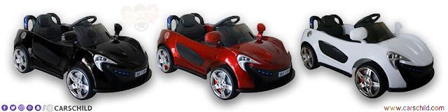 سيارة أطفال صغار كهربائية
