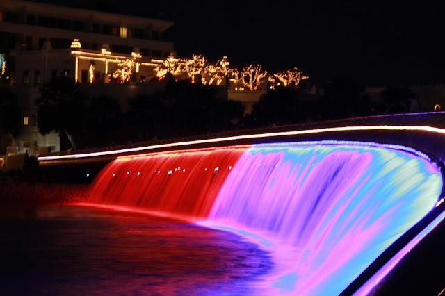 Đèn led dây hiệu ứng nước chảy