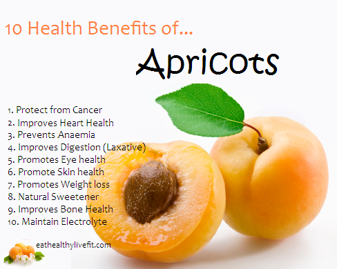 10 Tip Health Benefits Of Apricot Rozet