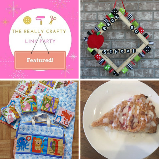 The Really Crafty Link Party #78 featured posts!