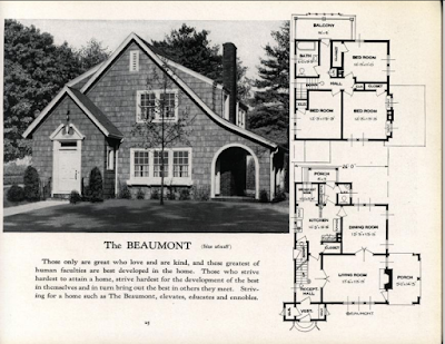 lookalike to Sears Cedars by Plan-book company Standard Homes--the Beaumount