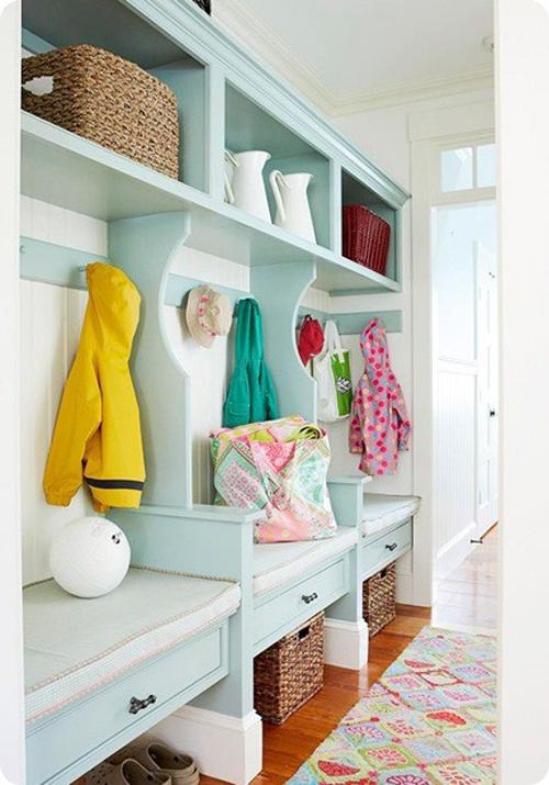 Gi Room Design: Blaise Adkison Interior Design: Organize Your Foyer & Entryway