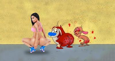 Imagenes de Humor  Nicki Minaj - Anaconda