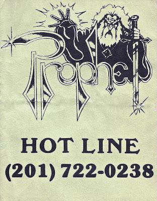 Prophet hot line & calendar