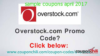 free Overstock coupons for april 2017