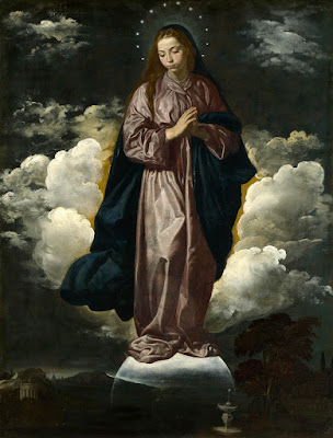 Diego Velázquez - Inmaculada Concepción (1618) - National Gallery (Londres)