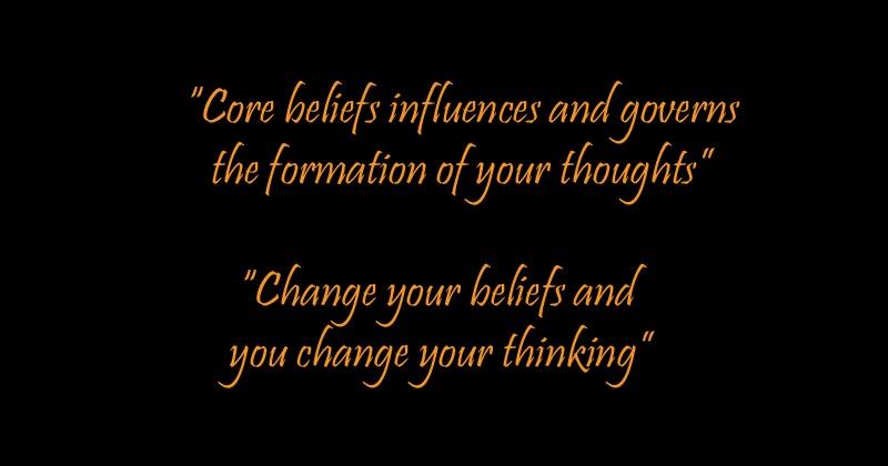 how to change negative beliefs