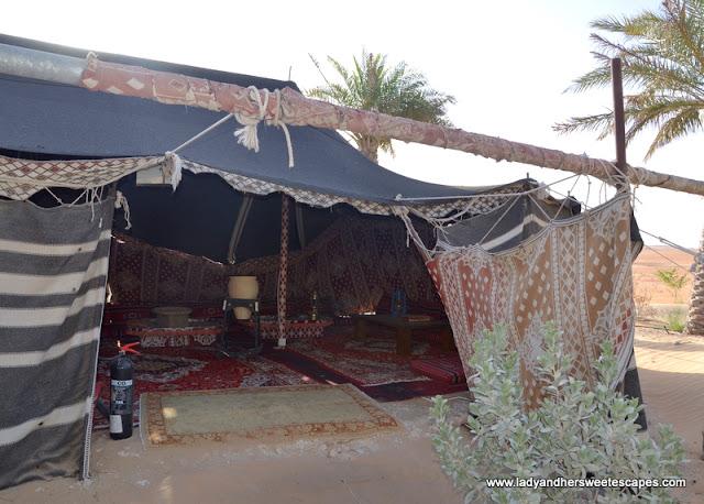 tent in Tilal Liwa