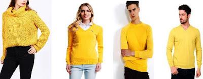sarı renk kazakla ne giyilir