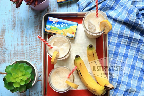 Resep Banana Cheese Smoothie
