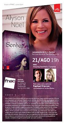 Eventos: Alyson Noel no Brasil. 11