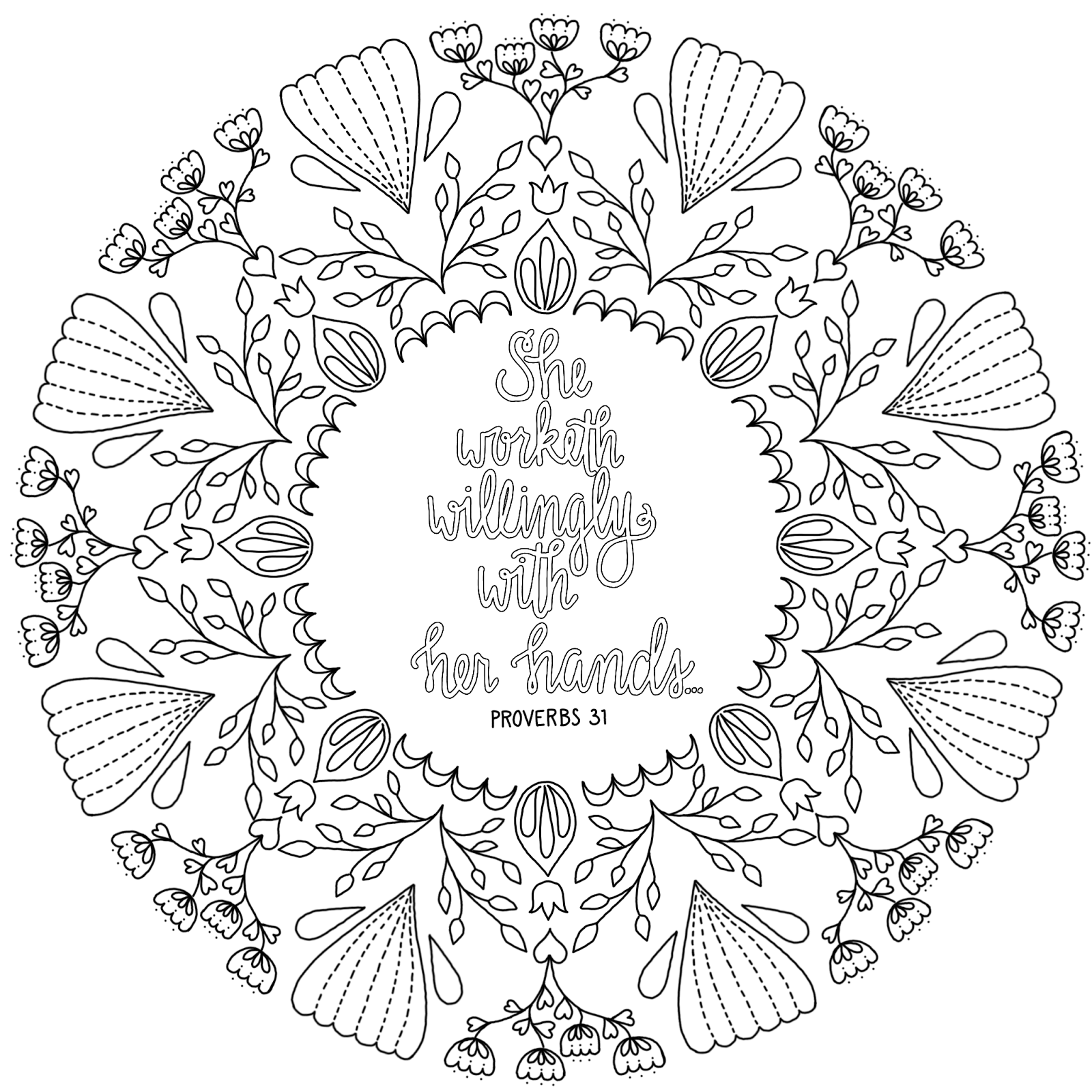 just what i squeeze in Proverbs 31 Coloring Page 23
