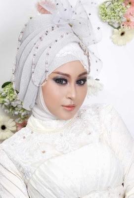 hijab pengantin syari
