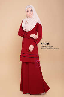 Baju Kurung Moden Helena (Ibu) - SOLD OUT