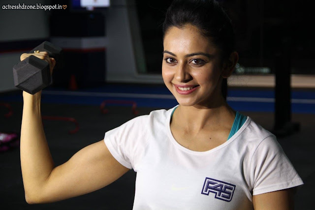 rakul preet sing fitness wallpapers